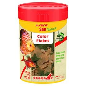 Корм Sera San Nature для рыб, основной, в хлопьях, 100 мл, 22 г
