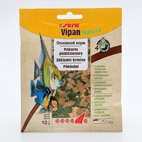 Корм Sera VIPAN для рыб основной, в хлопьях, 12 г, пакетик