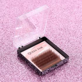 A set of lashes d/NARAS 6 number, l 9,10,11,12 mm, thickness 0,1, bending With brown Plast cor QF