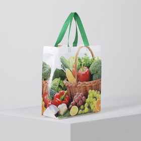 Bag the Fruit, 29*11*33 the division without a zipper, green