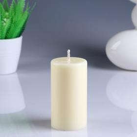 """Candle - cylinder """"Vanilla"""" scented, of 5.2×9.5 cm"""