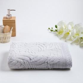 Полотенце махровое «MANO» 70х130 см, белый
