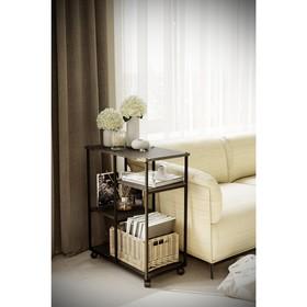 Консоль «Вэстри», 665 × 350 × 790 мм, МДФ, цвет серый бетон Ош