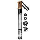 Палки для скандинавской ходьбы, 2 шт, до 135 см, цвета МИКС