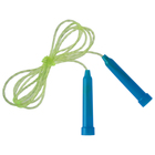 Jump rope with plastic handle, PVC, 2m, 5 colors