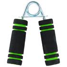 Эспандер для укрепления мышц кисти, нагрузка 10 кг, 12,5 х 8 см, металл, ЭВА, цвета МИКС