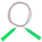 Rope, plastic, PVC, 2,3 m x 4,3 mm color mix