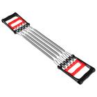 Тренажер-эспандер металл. двойной, нагрузка 35 кг, 67 см, для мышц груди, спины и рук
