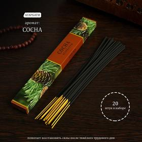 Incense Sosna, 20 sticks in a package