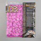 Галька декоративная, флуоресцентная, пурпурная, 800 г , фр 8-12 мм - фото 405283