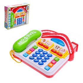 Игрушка «Телефоша», с трубкой, учим цифры, алфавит