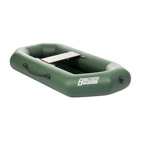 Лодка «Бриз 190» с гребками, цвет зелёный Ош