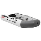 Лодка «Капитан 260Т», цвет белый/серый