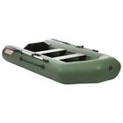 Лодка «Капитан 260Т», цвет зелёный