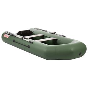 Лодка «Капитан 280Т», цвет зелёный