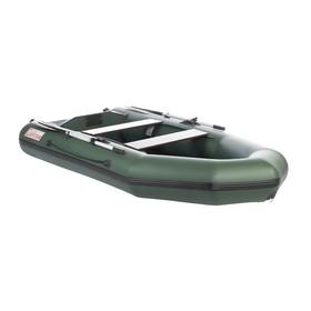 Лодка «Капитан Т290», слань+киль, цвет зелёный
