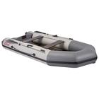 Лодка «Капитан Т330», слань+киль, цвет белый/серый
