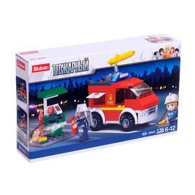 "Designer ""Fire wagon"", 136 parts"