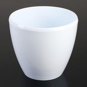 Кашпо со вставкой «Деко Твин», 5,8 л, цвет белый