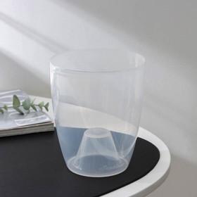 Горшок «Орхидея», 1,3 л, цвет прозрачный