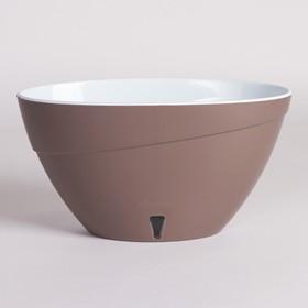 Кашпо с прикорневым поливом Calipso, 2 л, цвет шаде