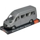 Машина «Mercedes Sprinter пасажирский» на планшетке, цвет серый - фото 105650898