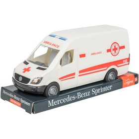 Машина «Mercedes Sprinter скорая помощь», на планшетке