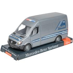 Машина «Mercedes Sprinter полиция», на планшетке