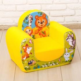 Мягкая игрушка-кресло «Сказки»
