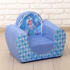 Кресло, снежная принцесса