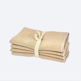 Набор салфеток, размер 25 × 25 см-4 шт, принт gold sand