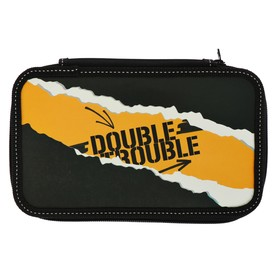 "Pencil case 2 compartments 125*205 Lam.cards Calligrata ""Double trouble"""