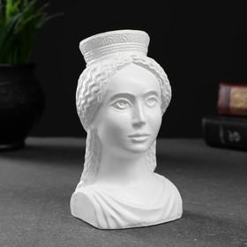 """Фигура """"Богиня Тэхе (Судьба)"""" белая 12х10см"""