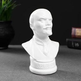 Бюст Ленина белый, 12х7,5см