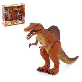 Робот-животное «Динозавр», световые эффекты, работат от батареек