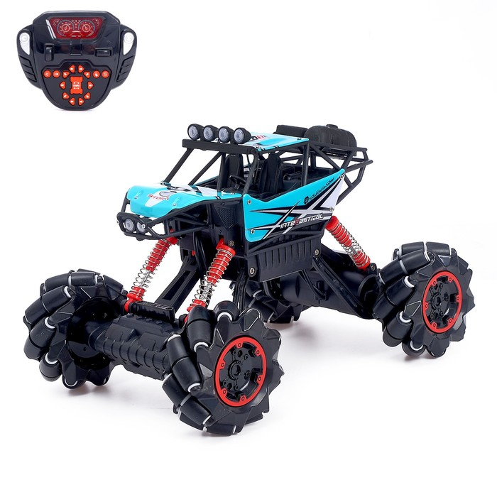 Машина радиоуправляемая «Джип-акробат», полный привод 4WD, движение во всех направлениях - фото 76284889