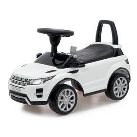 Толокар Land Rover Evoque, звуковые эффекты, цвет белый