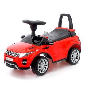 Толокар Land Rover Evoque, звуковые эффекты, цвет красный