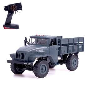 Грузовик радиоуправляемый «Фургон», полный привод 4WD, работает от аккумулятора, 1:16