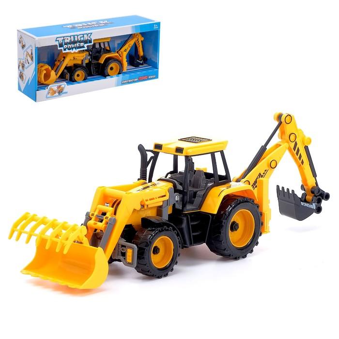 Трактор инерционный «Экскаватор-погрузчик»