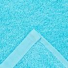 Полотенце махровое «Plait», цвет голубой, 100х150 см - фото 4672668