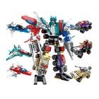 Конструктор Робот «Cобери трансформера», 89 деталей - фото 105635169