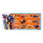 Конструктор Робот «Cобери трансформера», 89 деталей - фото 105635170