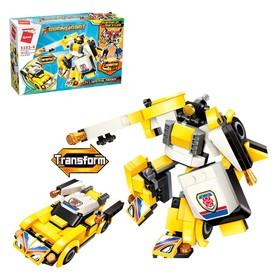 Конструктор Робот «Трансформер», 152 детали