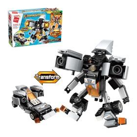 Конструктор Робот «Трансформер», 136 деталей