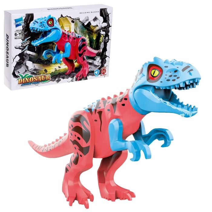 Конструктор Дино Variation Tyrannosaurus rex, звуковые эффекты - фото 636273
