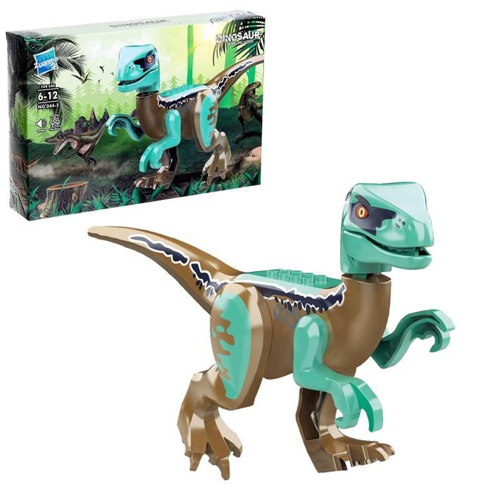 Конструктор Дино Velociraptor, звуковые эффекты - фото 106149162