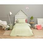 Детское постельное бельё Этель «Салатовая нежность» 1.5 сп, цвет зелёный, 143х215 см, 150х214 см, 50х70 см - фото 652683
