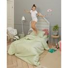 Детское постельное бельё Этель «Салатовая нежность» 1.5 сп, цвет зелёный, 143х215 см, 150х214 см, 50х70 см - фото 652684