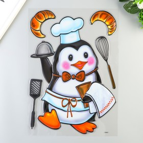 """Наклейки Room Decor """"Пингвинёнок повар"""" 29х41 см"""